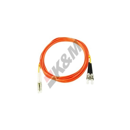 1m LC/PC-ST/PC MM-DX OM2 62.5/125 fiber optic patch cord
