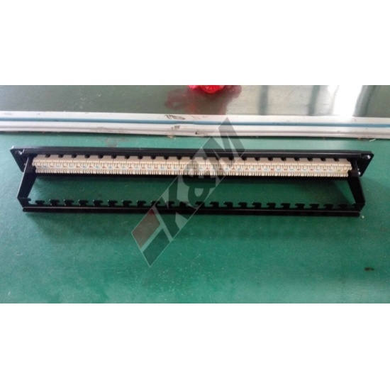 1U 24 Ports UTP CAT6 Patch-Panel
