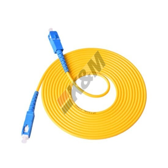 SC /PC to SC/PC SM SIMPLEX Fiber Optic Patch Cord